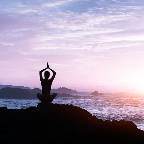 Image of meditation for holistic health speaking engagements at nutritionbliss.com
